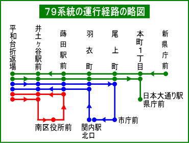 横浜 市営 バス 路線 図 時刻 表